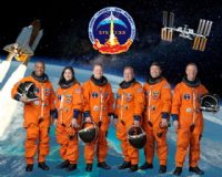 STS-133 Official NASA Crew Portrait (Original)